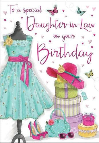 To A Special Daughter-In-Law On Your Birthday