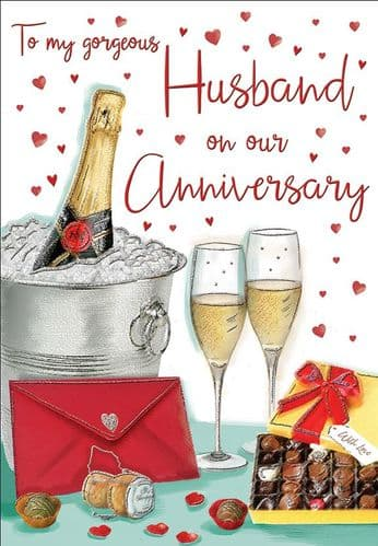 To My Gorgeous Husband On Our Anniversary