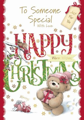 To Someone Special With Love Happy Christmas.