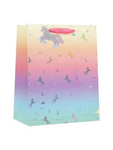 Unicorn Silhouette - Large Bag - 6 Pack