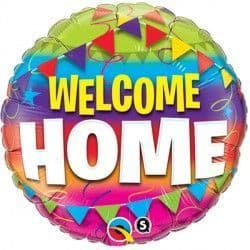 """WELCOME HOME PENNENTS 18"""" PKT"""