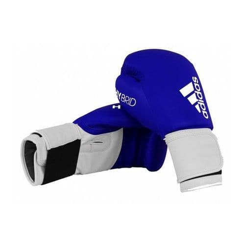 Adidas 100 Hybrid Boxing Gloves - Blue