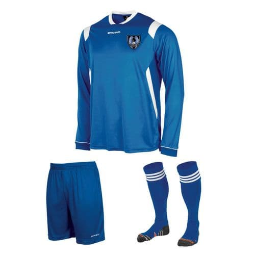 Aston Clinton Colts Home Kit  Long Sleeve  Junior