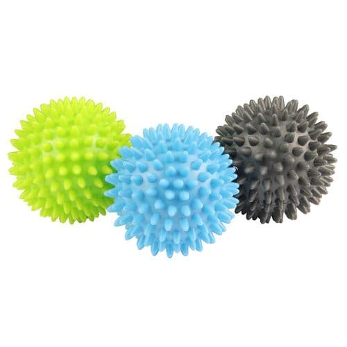 Fitness Mad Spikey Massage Ball (Set of 3)