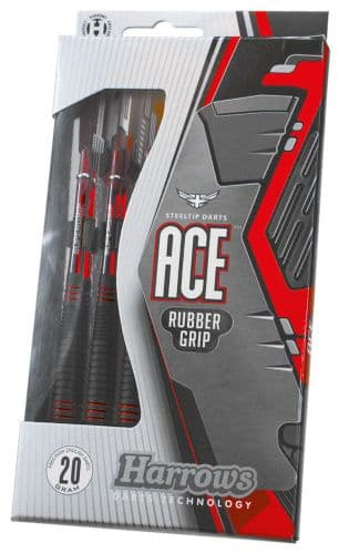 Harrows Ace Rubber Coated Brass Darts