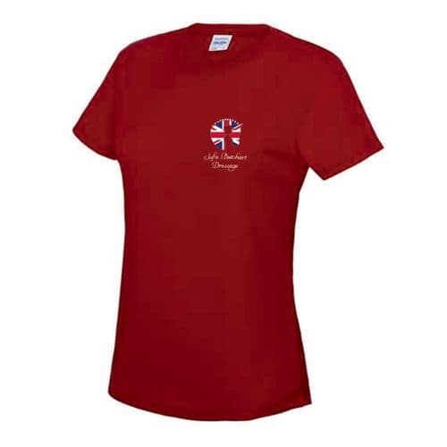 Red Sofie Butchart Dressage T-Shirt