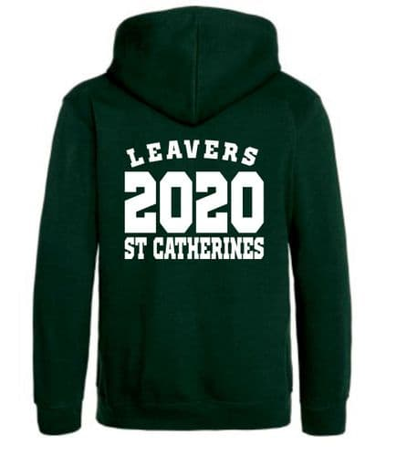 St Catherines 2020 Leavers ZIP Hoody Senior