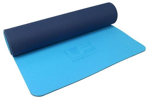 Urban Fitness 6mm TPE Yoga Mat - Blue/Navy