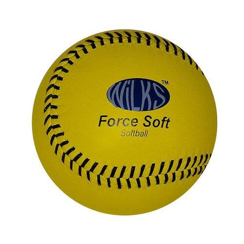 Wilks Force Soft Softball Ball