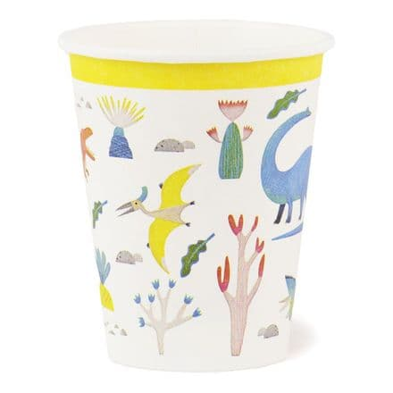 Dinosaur / Dino Colourful Paper Cups