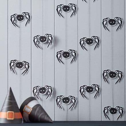 Halloween Spooky Spider Party Backdrop