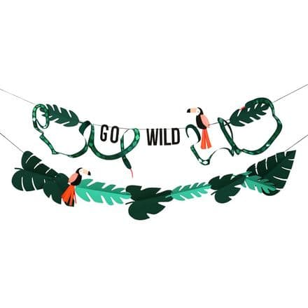 Meri Meri Go Wild Jungel Party Garland