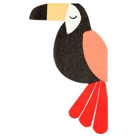 Meri Meri Go Wild Jungle Toucan Napkins