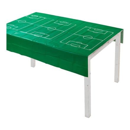 Party Champions, Football Pitch, Green Paper Table Cover