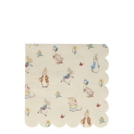 Peter Rabbit & Friends Paper Party Napkins - Large