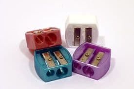 Body collection double make up pencil sharpener (Code 0973)