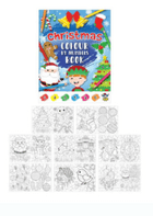 Christmas Colour by Numbers Book (Code 5124)