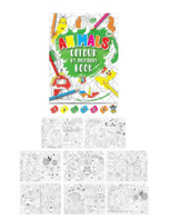 Colour by Numbers Animals Book  BOGOF(Code 5000)
