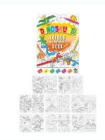Dinosaur Colour by Numbers Book BOGOF (Code 5001)