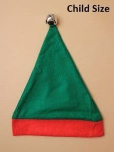 Elf hat with bell (Code 3774)