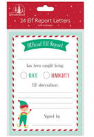 Elf report sheets with envelopes (Code 4610)