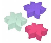 Make up sponge flower (Code 4668)