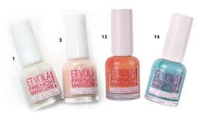 Miss Sporty Et Voila french manicure nail polish (Code 2833)