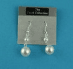 Pearl collection drop earrings (Code 4191)