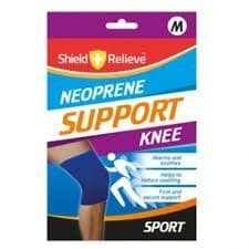 Shield and relieve neoprene knee support (Code 3211)