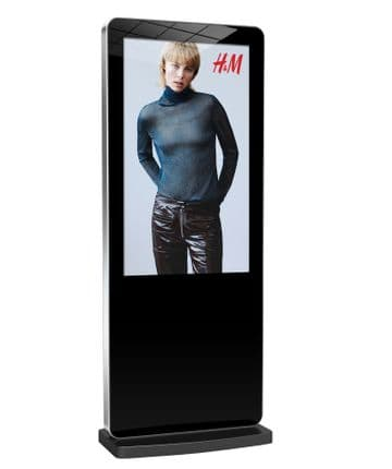 """Android Network Freestanding Digital Posters (50"""" & 55"""") And CMS Offer!"""