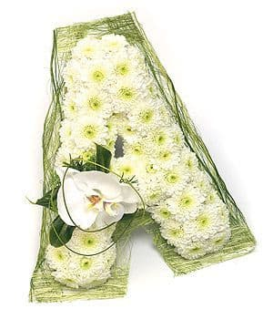 Floral Letters A to Z