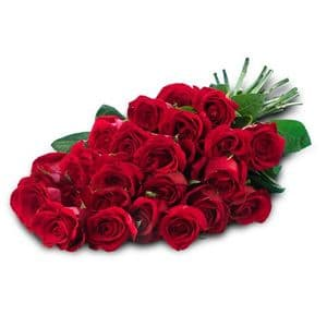 Infinite Love: 25 red roses