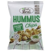Eat Real Sour Cream & Chives Hummus Chips