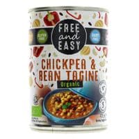 Free & Easy Organic Chickpea & Bean Tagine 400g