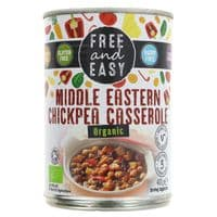 Free & Easy Organic Middle Eastern Chickpea Casserole 400g