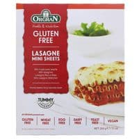 Orgran Rice & Corn Lasagne Mini Sheets 4 x 250g