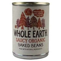 Whole Earth Saucy Organic Baked Beans 12 x 400g
