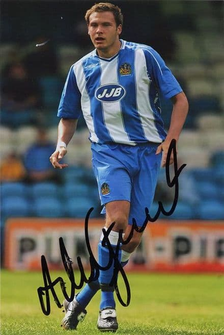 Andreas Granqvist, Wigan Athletic & Sweden, signed 6x4 inch photo.