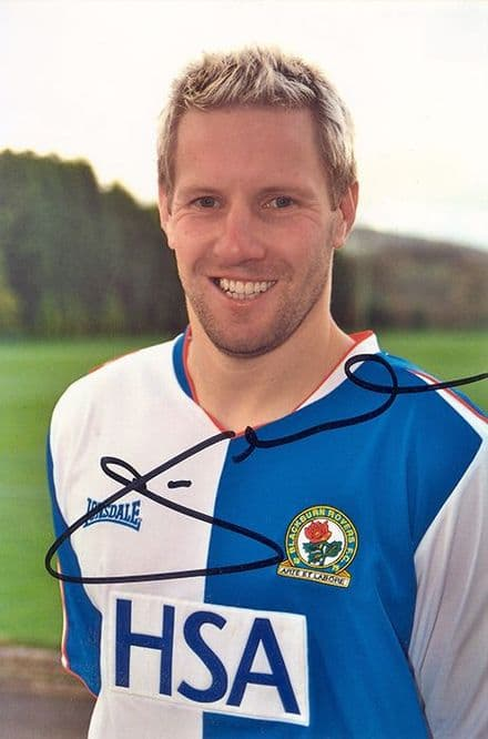 Andy Todd, Blackburn Rovers, signed 6x4 inch photo.