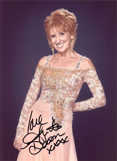 Anita Dobson, Eastenders, signed 11x8 inch photo.