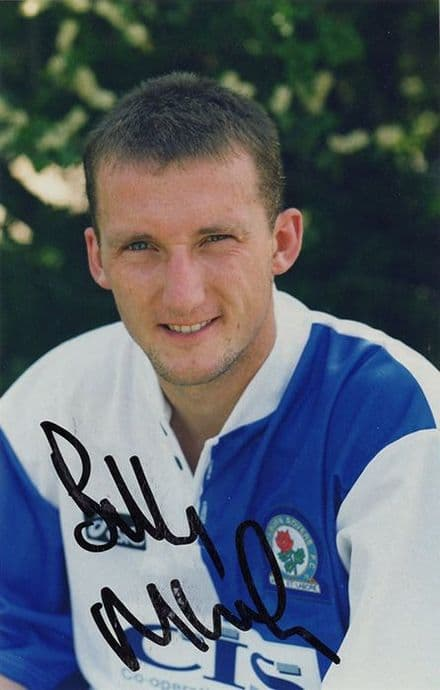 Billy McKinlay, Blackburn Rovers, signed 6x4 inch photo.