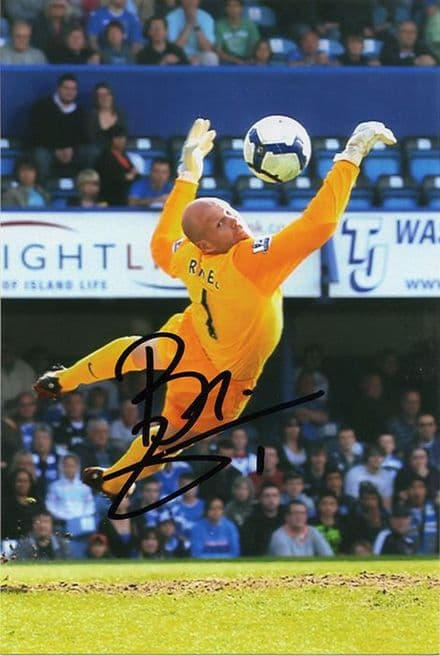 Brad Friedel, Aston Villa, USA, signed 6x4 inch photo.