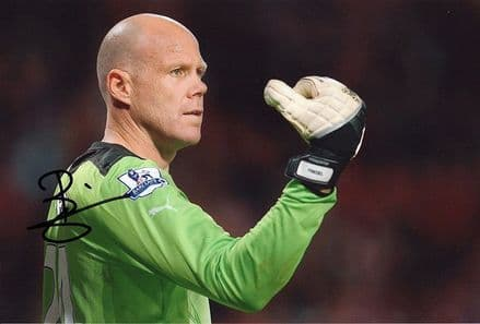 Brad Friedel, Tottenham Hospur & United States, signed 12x8 inch photo.