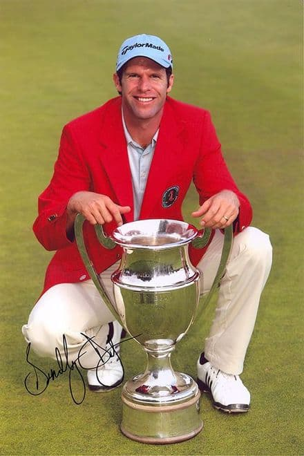 Bradley Dredge, European Masters 2006, signed 12x8 inch photo.