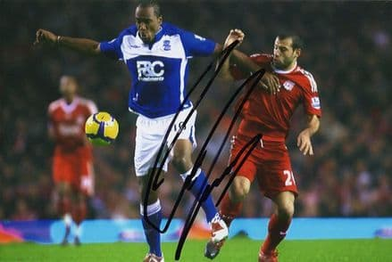 Cameron Jerome, Birmingham City, signed 6x4 inch photo.