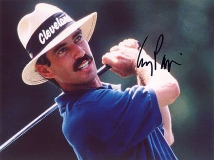Corey Pavin, PGA Tour golfer, signed 8x6 inch photo.
