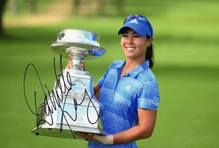 Danielle Kang, signed 12x8 inch photo.