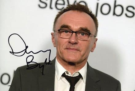 Danny Boyle, film director, signed 12x8 inch photo.