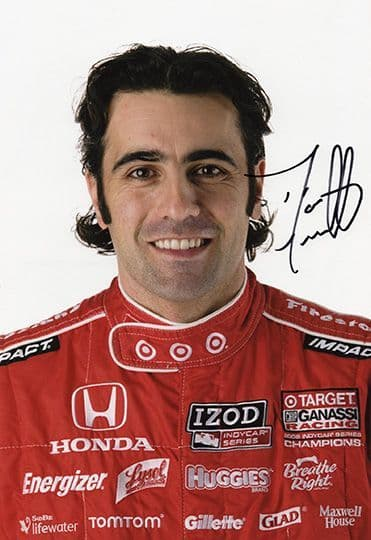 Dario Franchitti, IndyCar, Indy 500, signed 12x8 inch photo.