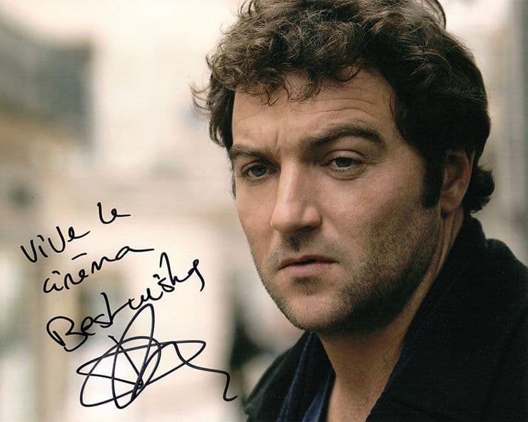 Denis Menochet, French actor, signed 10x8 inch photo.